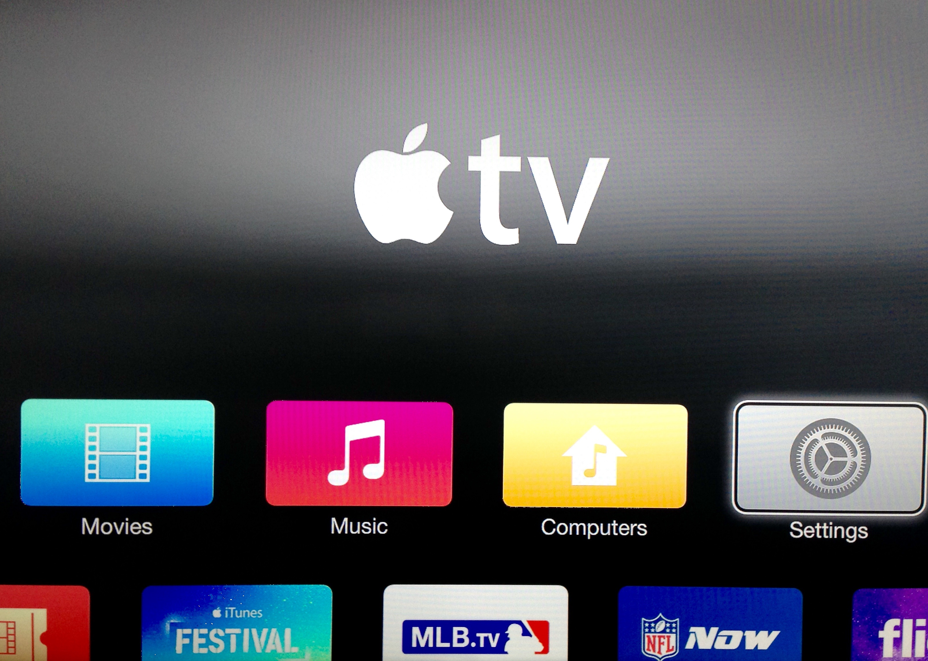 Apple TV new software update